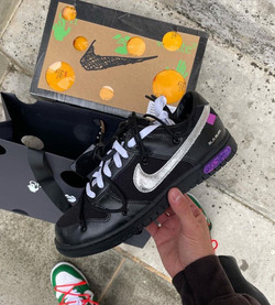 Nike x Off-White Dunk Low 'Lot 50'