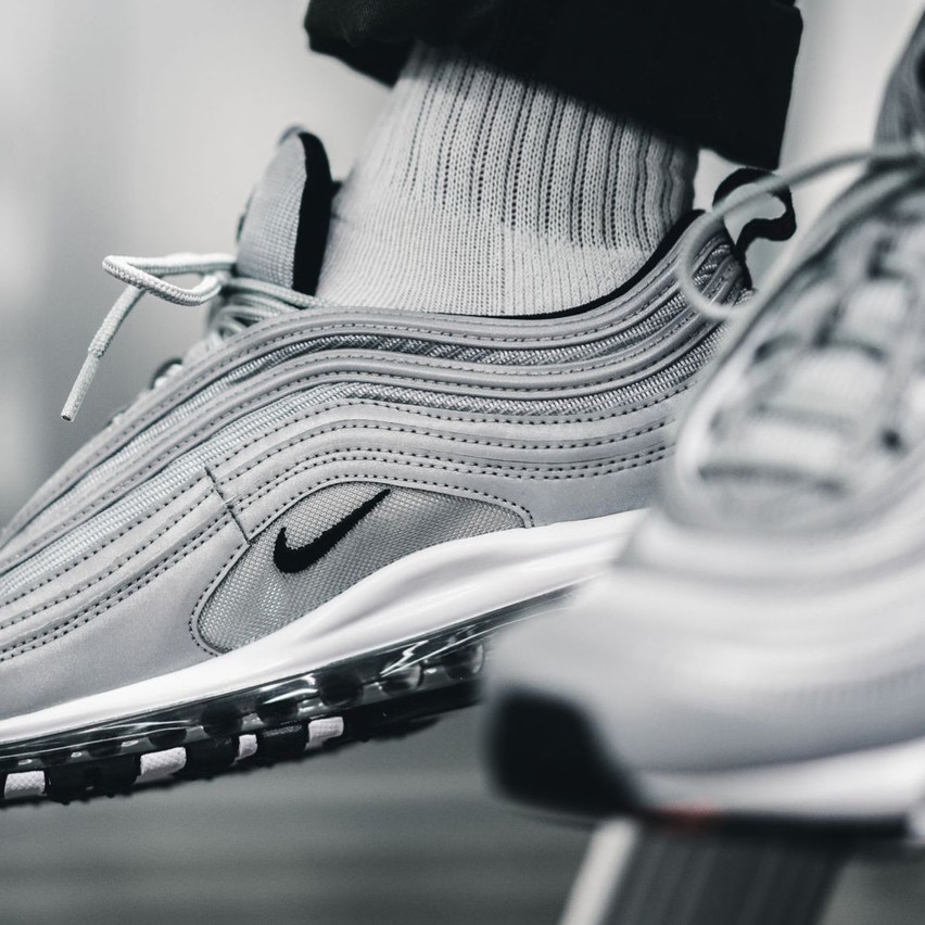 Nike Air Max 97 Reflective Silver Crep Check 5