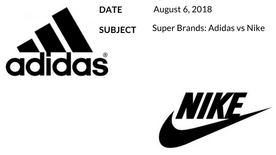 Super Brands: Adidas vs Nike blog cover