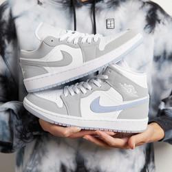 Air Jordan 1 Low & High 'Wolf Grey