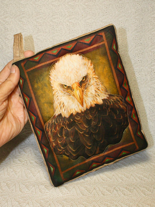 Pair of Bald Eagle Pot Holders