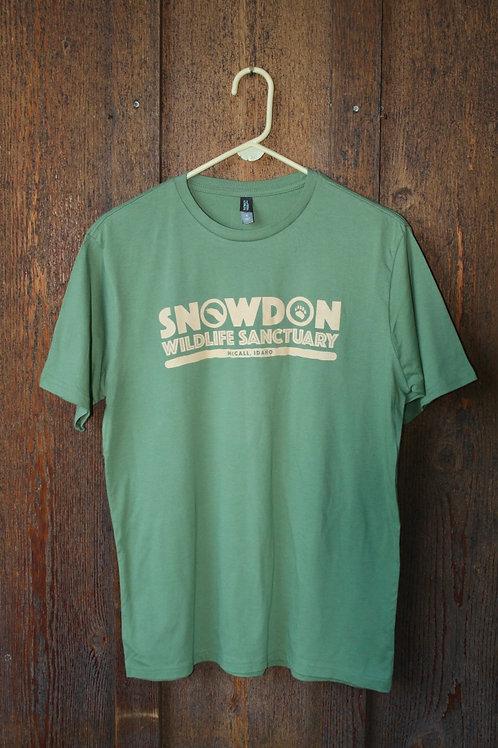 100% Cotton T-Shirt, Light Sage
