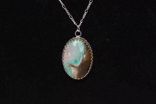 Variscite Sterling Silver Necklace