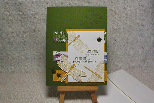 Hand-Crafted Nature Card - Inspiration