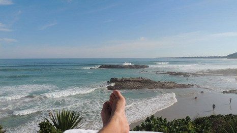 Put your feet up and enjoy the view!