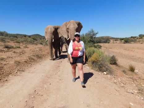 Walking with giants!