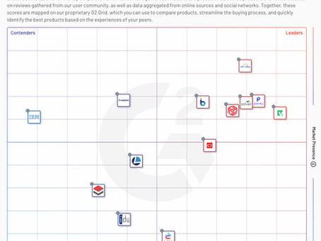 Workday Adaptive Planning: G2 ユーザコミュニティは最高の評価を得ている!
