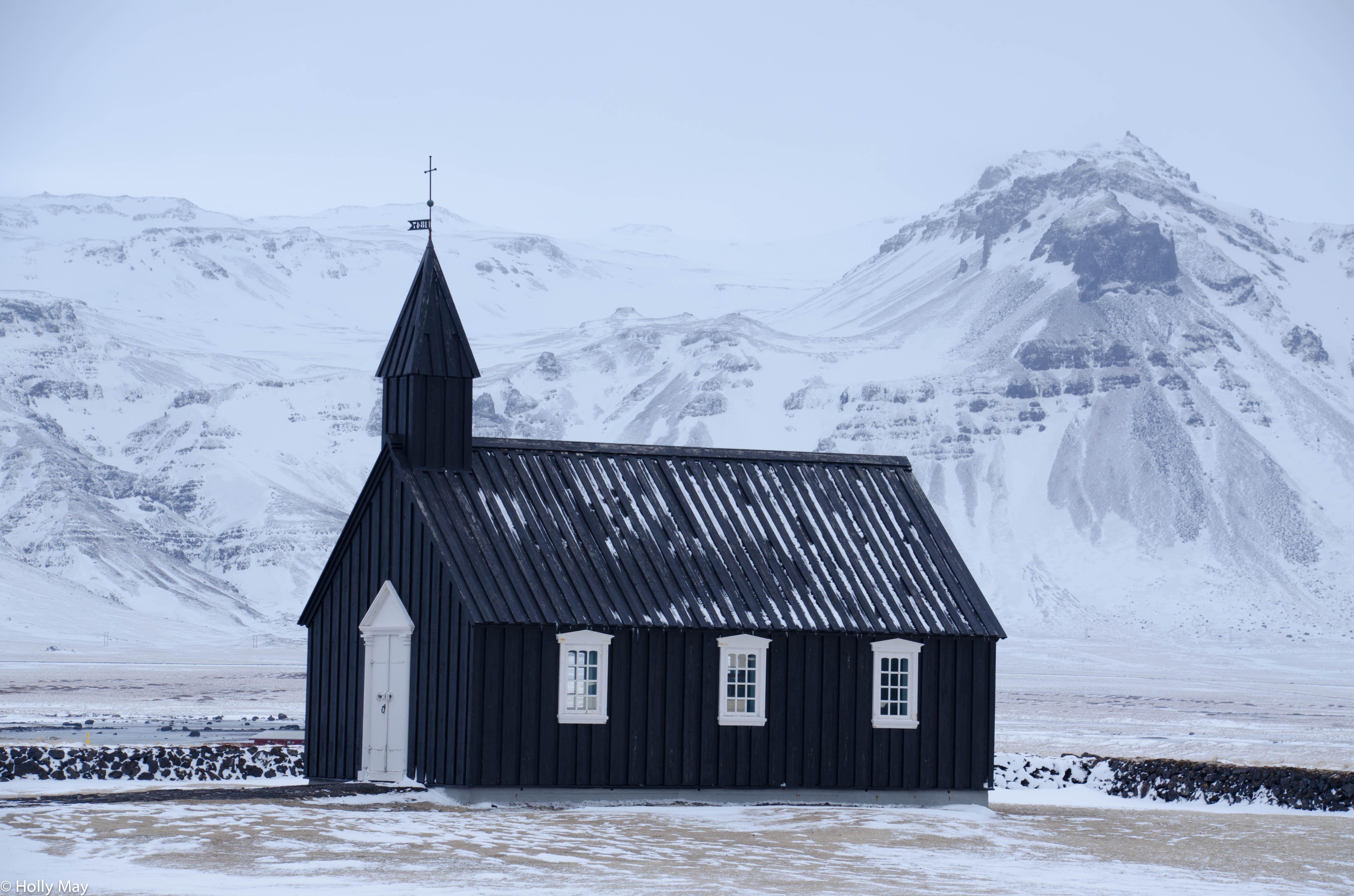 Iceland black church