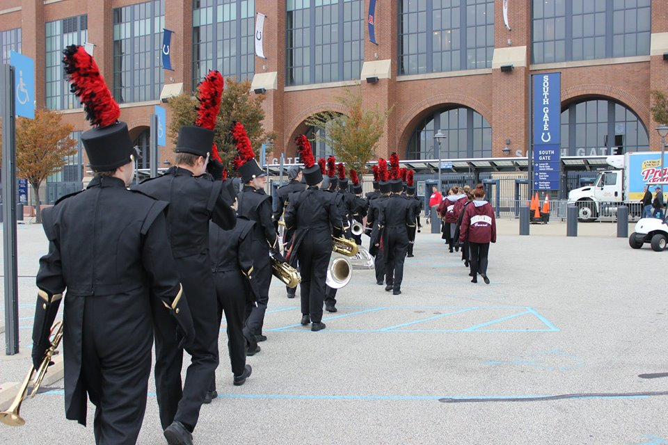 Going in to Lucas Oil Stadium
