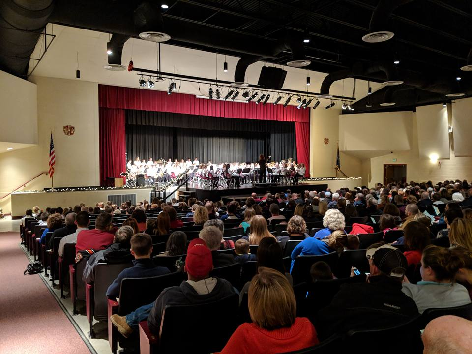 2017 Jr. Band Christmas concert