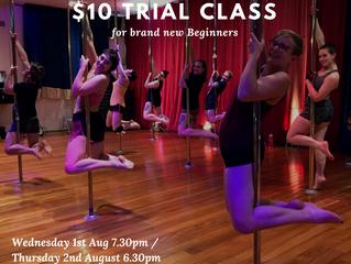 Pole Dance Trial Classes!