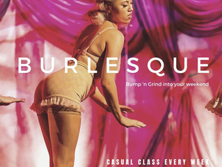 Casual Burlesque has arrived to Saturday mornings!