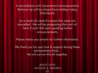Covid Update & Term 2 start date