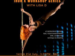 Handspring, Deadlift & Iron X Workshop Series