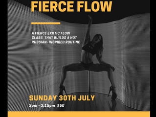 FIERCE FLOW! Russian Inspired Sexy Workshop with Lisa D!