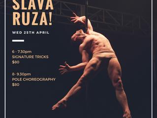 Workshops with SLAVA RUZA!