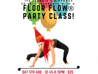 FLOOR FLOW® Party Class! 05/08/17