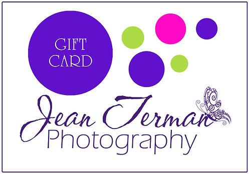 Jean Terman Photography Gift Card