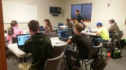 EMERGE web design class in Bozeman