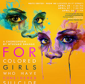 for colored girls who have considered suicide/ when the rainbow is enuf