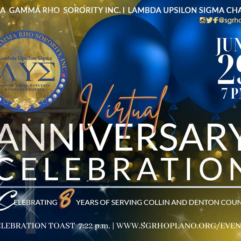 Virtual Anniversary Celebration