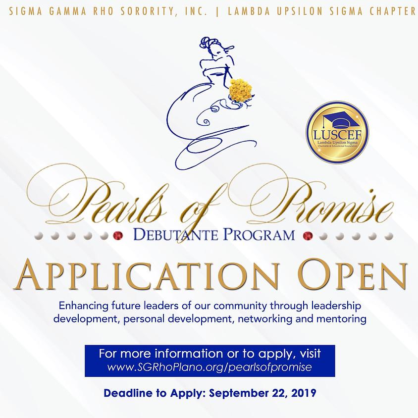 Pearls of Promise Debutante Program