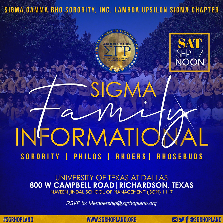 Sigma Family Informational