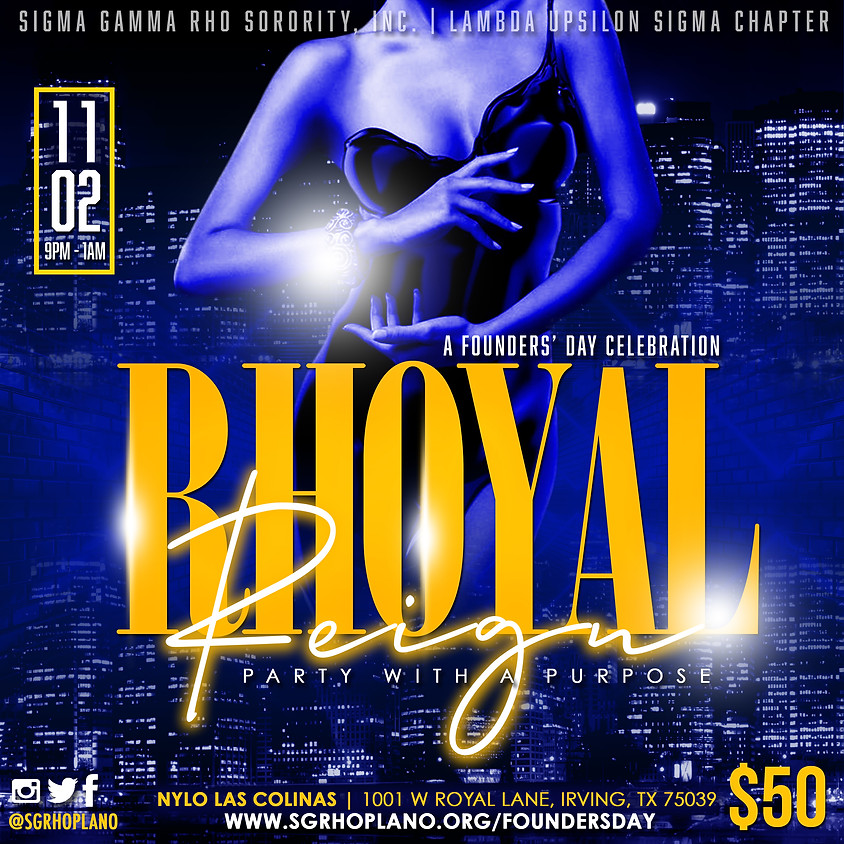 Rhoyal Reign: A Party with a Purpose