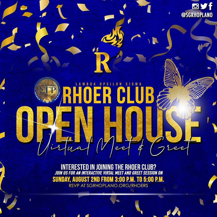 Rhoer Club Open House