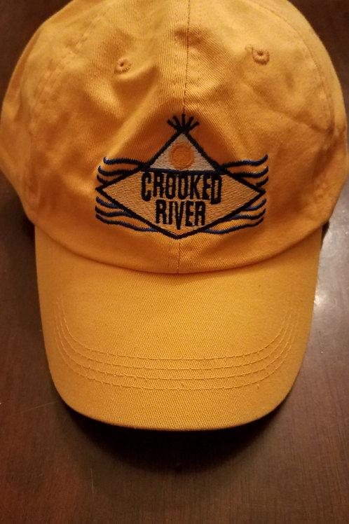 Adjustable Baseball Cap - Yellow