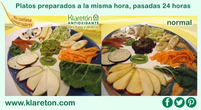 Alimentos con y sin Klaretón