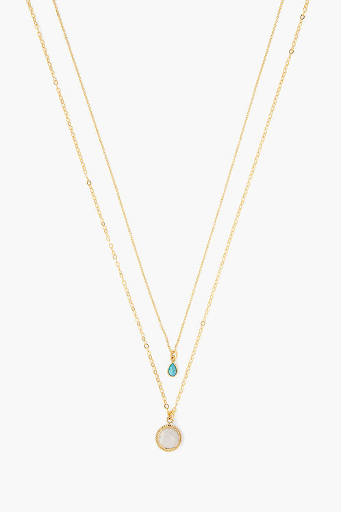 CHAN LUU Double Layered Necklace