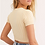 Thumbnail: FREE PEOPLE Cropped Short Sleeve Sweater