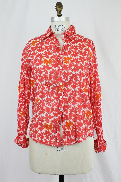 NIMBU Patterned Button Down shirt