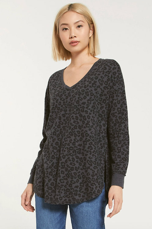 Z SUPPLY V-Neck Leopard Weekender