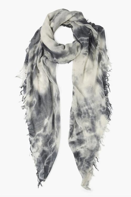 CHAN LUU Cashmere/Silk Tie Dye Scarf