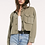 Thumbnail: RAG POETS Cropped Military Jacket