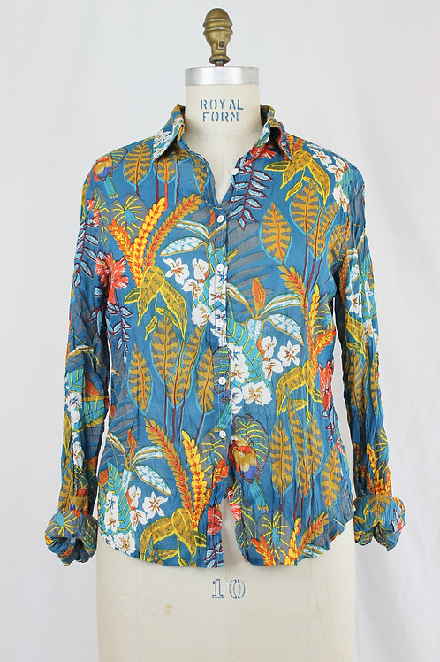 NIMBU Pattered Button Down Shirt