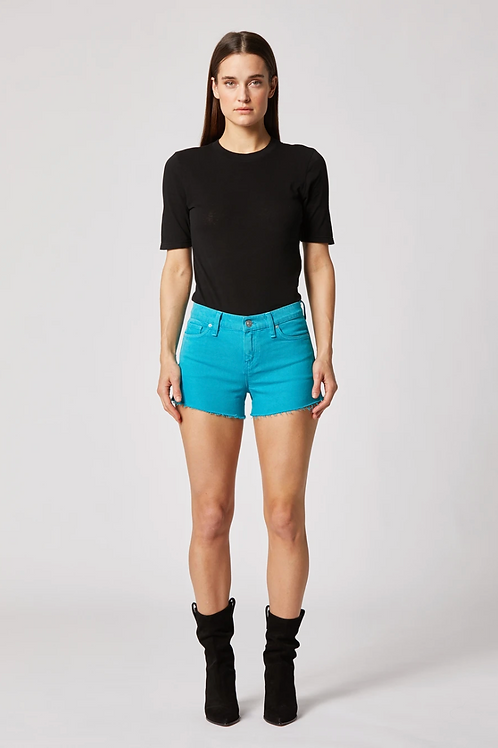 HUDSON Gemma Mid-Rise Cut-Off Shorts