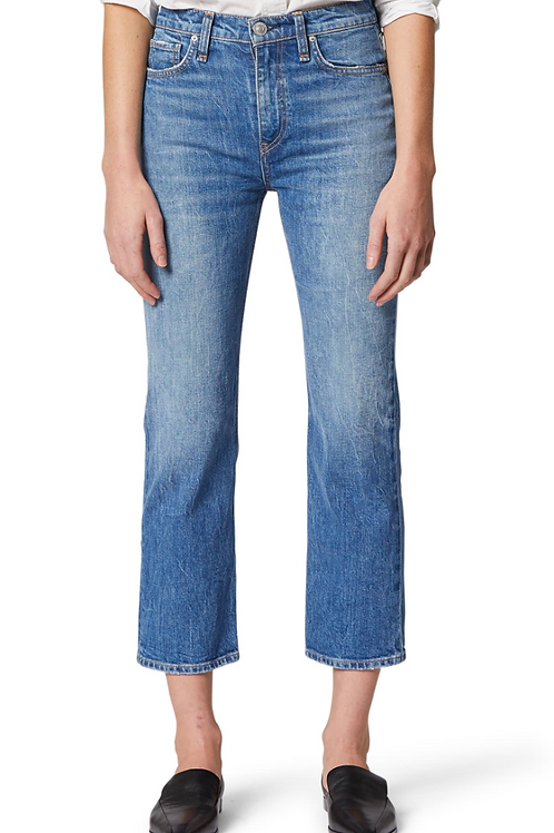 HUDSON Remi High Rise Straight Leg Cropped Jeans