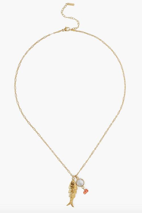 CHAN LUU Lucky Koi Pendant Necklace