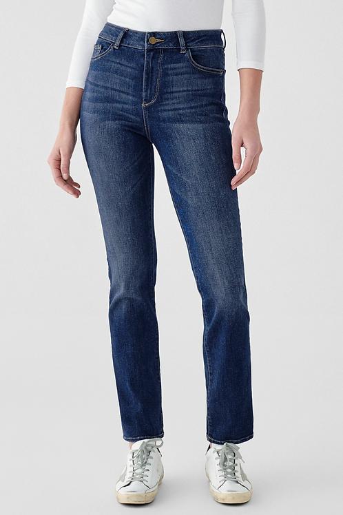 DL1961 Mara High Rise Straight Leg Jeans