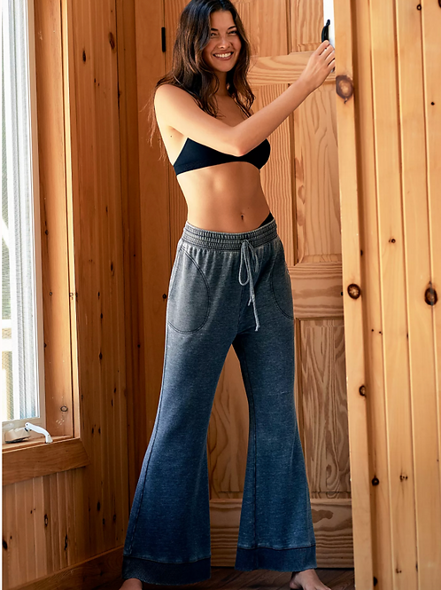 FREE PEOPLE Flared Lounge Pants