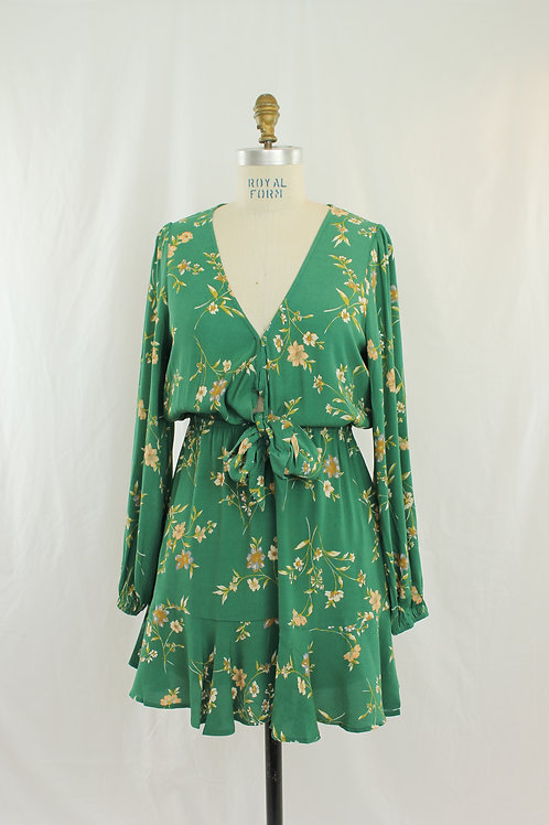 KIVARI Melody Floral Tie Dress