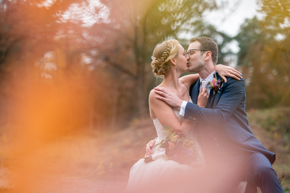 Bruidspaar Jochem en Rosan