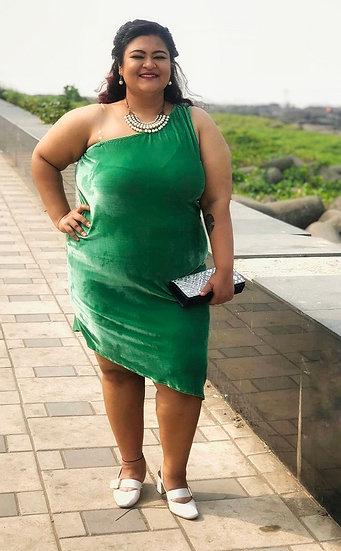 Sycamore Velvet Dress