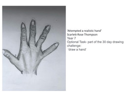27/04/20 - Attempted a realistic hand