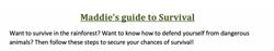 03/07/20 - Survival Guide