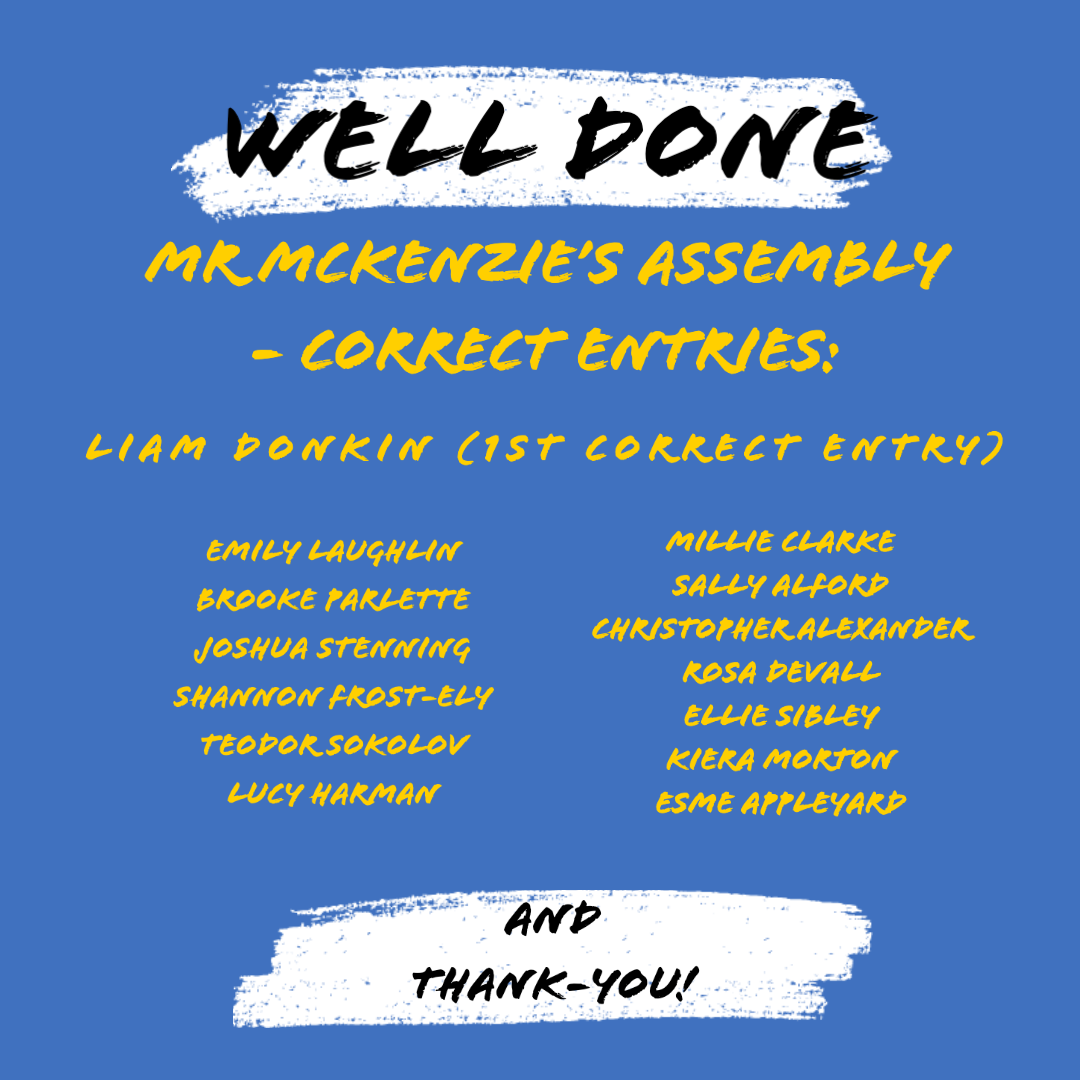 15/06/20 - Mr McKenzie's Assembly
