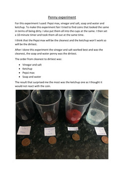 31/05/20 - Penny Experiment
